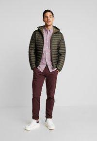 Marc O'Polo - REGULAR FIT LONG SLEEVE HOOD - Light jacket - grape leaf - 1