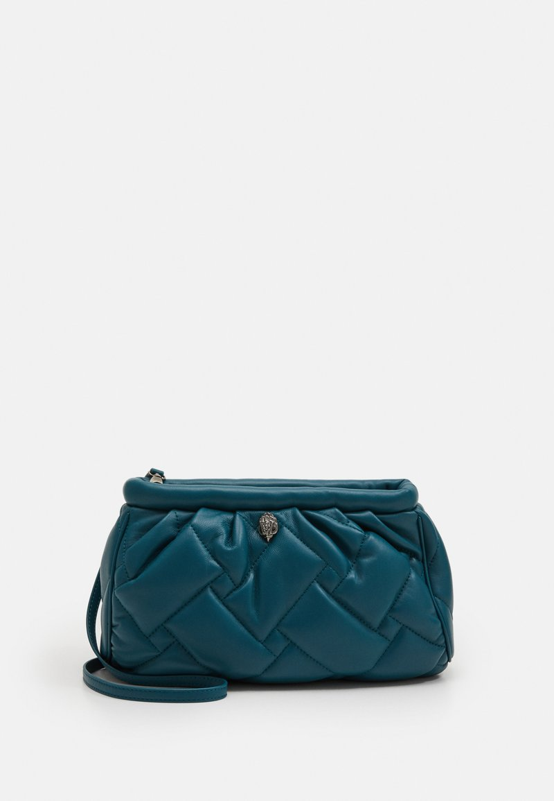 Kurt Geiger London - KENSINGTON SOFT CLUTCH - Psaníčko - teal
