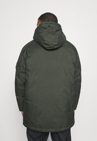 Jack & Jones - JJSKY JACKET - Winter coat - dark green melange - 3