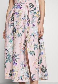 Closet - CLOSET PLEATED SKIRT DRESS - Cocktail dress / Party dress - peach - 4