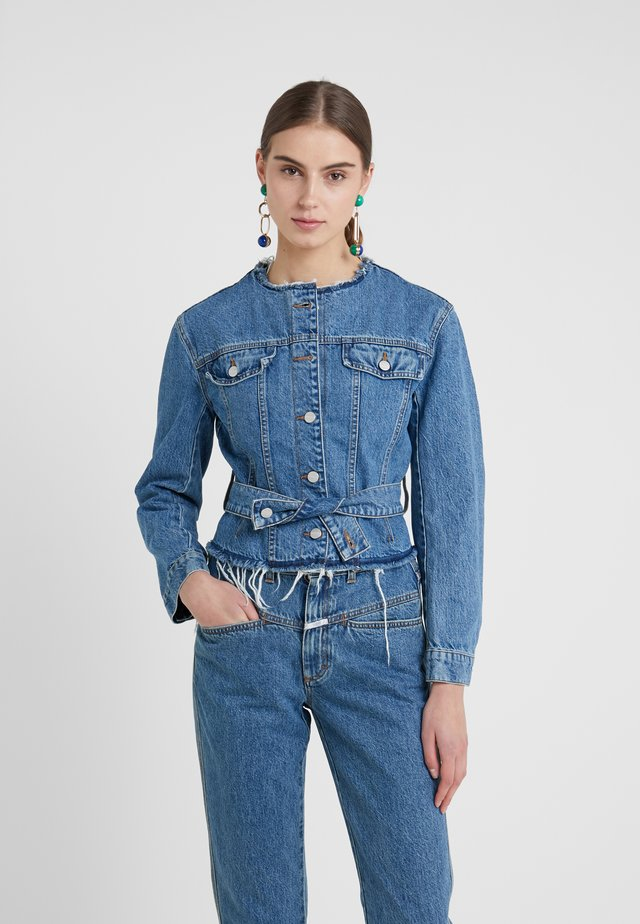 CINCH - Jeansjakke - mid blue