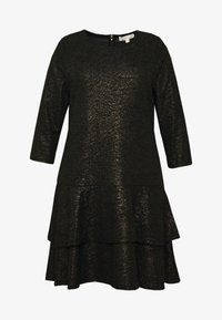 Cocktail dress / Party dress - black/gold