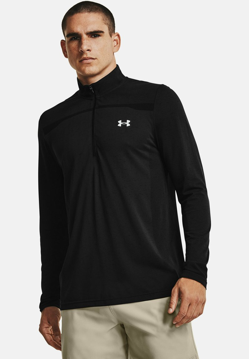 Under Armour - Long sleeved top - black