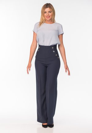 CHERRY - Trousers - blue
