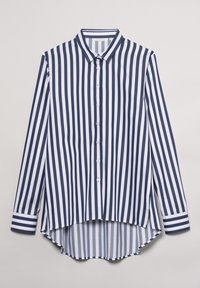 Eterna - Button-down blouse - marine weiß - 4