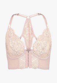 Pour Moi - OPULENCE FRONT FASTENING UNDERWIRED - Sujetador con aros - mink/oyster - 4