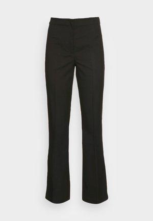 Trousers - black dark unique