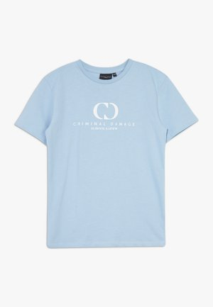 ORDINATE TEE - T-shirts print - blue/reflective white