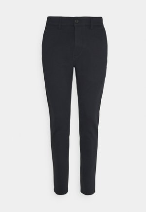 PONTE ROMA PLAIN - Trousers - dark navy