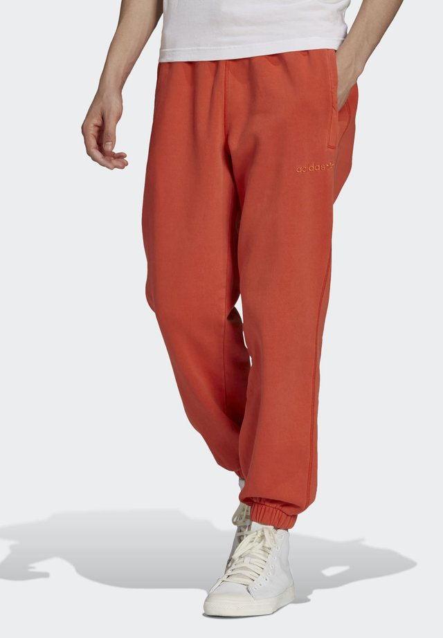 Tracksuit bottoms - orange
