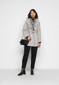 New Look Petite - COLLAR COAT - Kåpe / frakk - mid grey - 1