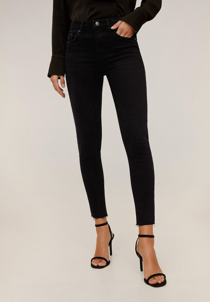 Mango - ISA - Jeans Skinny Fit - black denim
