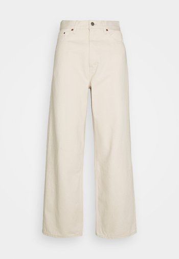 OMAR - Relaxed fit jeans - ecru