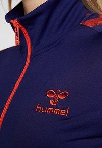 Hummel - NELLY ZIP JACKET - Chaqueta de entrenamiento - astral aura - 6