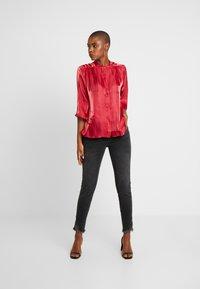 Mos Mosh - SUMNER FRAY TROK - Jeans Skinny Fit - black - 1