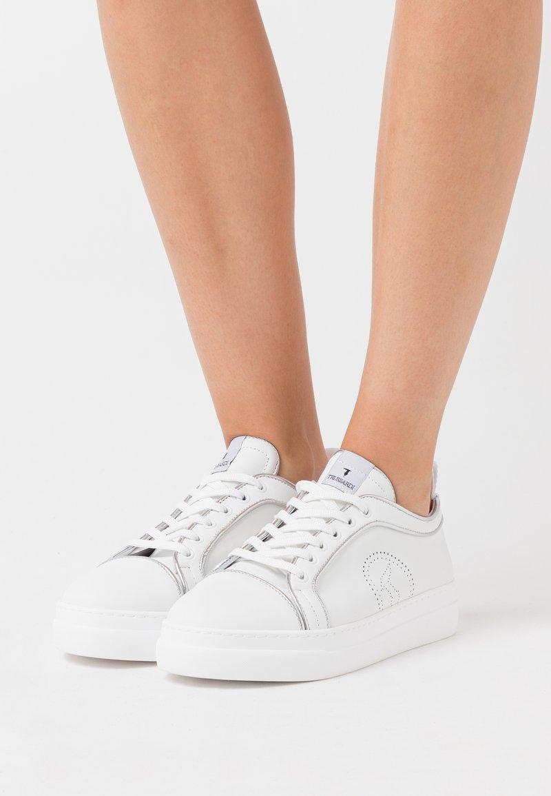 Trussardi - Trainers - white/silver