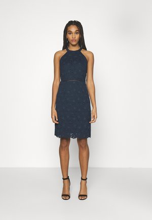 VIEMMIE HALTERNECK DRESS - Cocktail dress / Party dress - navy blazer