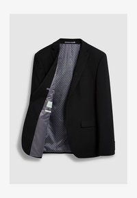 Next - STRETCH TONIC SUIT: JACKET-SLIM FIT - Giacca elegante - black - 2