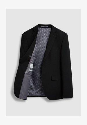 STRETCH TONIC SUIT: JACKET-SLIM FIT - Giacca elegante - black