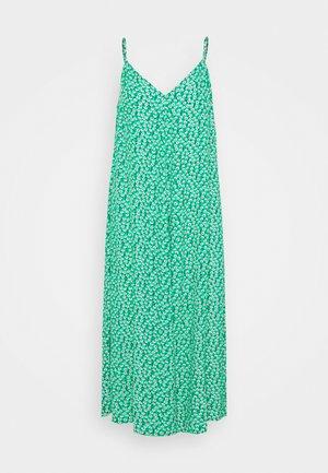 VMNORA NEW SINGLET CALF DRESS - Vestido informal - simply green/pink
