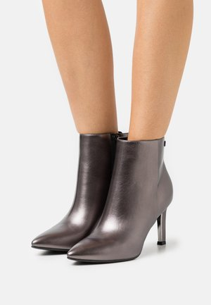 COMO  - High heeled ankle boots - anthracite