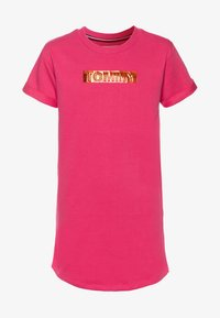 Tommy Hilfiger - LABEL DRESS - Denní šaty - pink - 0