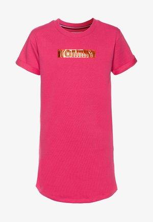 LABEL DRESS - Denní šaty - pink