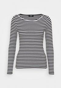 Zign - Long sleeved top - black/white - 4