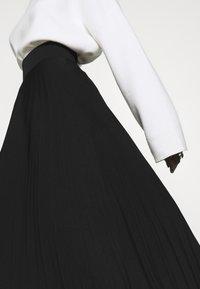 Anna Field Tall - Áčková sukně - black - 3