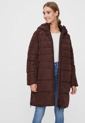 VMBERGEN - Płaszcz zimowy - chocolate plum