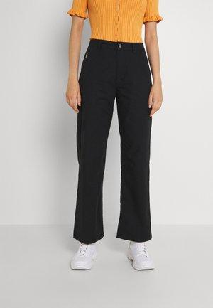 GO TO STRAIGHT LEG PANT - Straight leg jeans - black