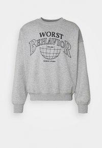 WRSTBHVR - SWEATER CITIZEN UNISEX - Sweatshirt - grey melange - 3