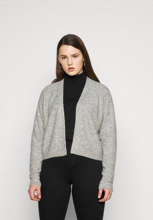 PCAMALIE CROPPED CARDIGAN  - Cardigan - light grey melange