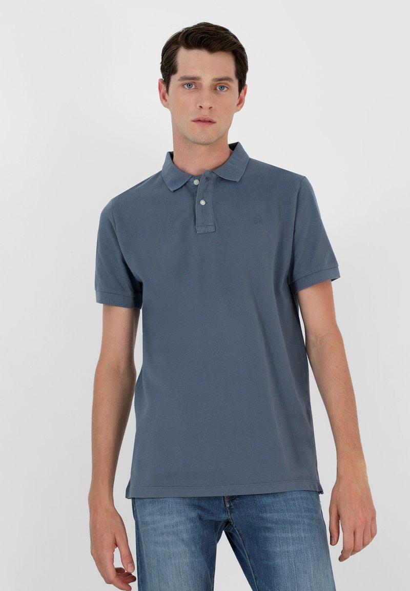 Scalpers - Polo shirt - blue