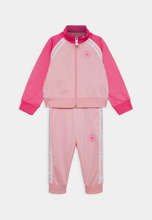 CHUCK SET - veste en sweat zippée - coastal pink