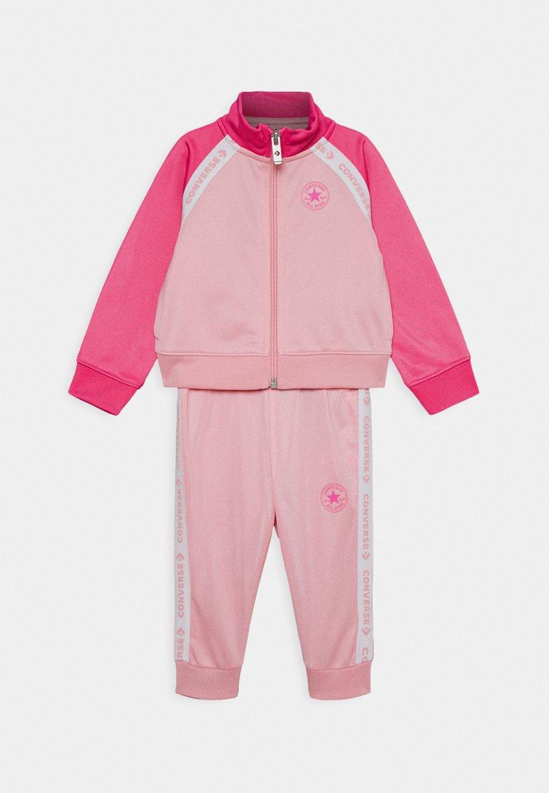Converse - CHUCK SET - Mikina na zip - coastal pink