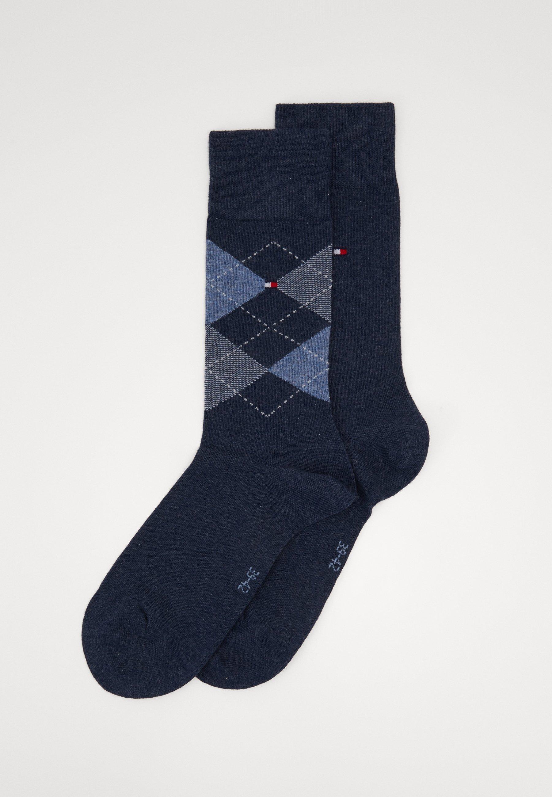 Men MEN SOCK CHECK 2 PACK - Socks