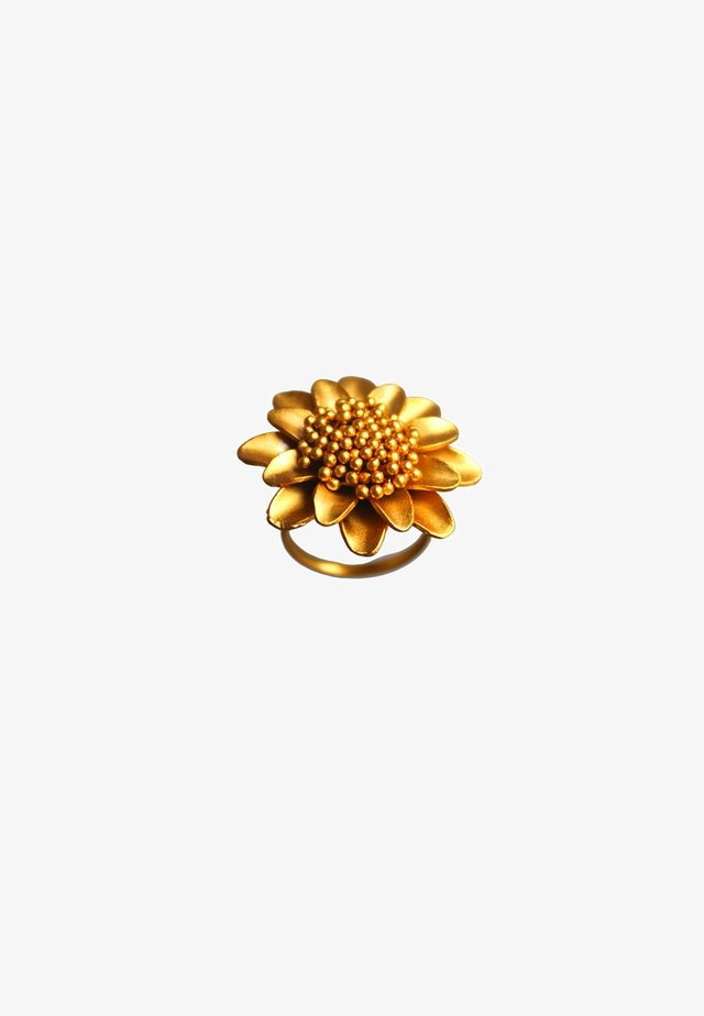 SUNFLOWER - Sormus - gold