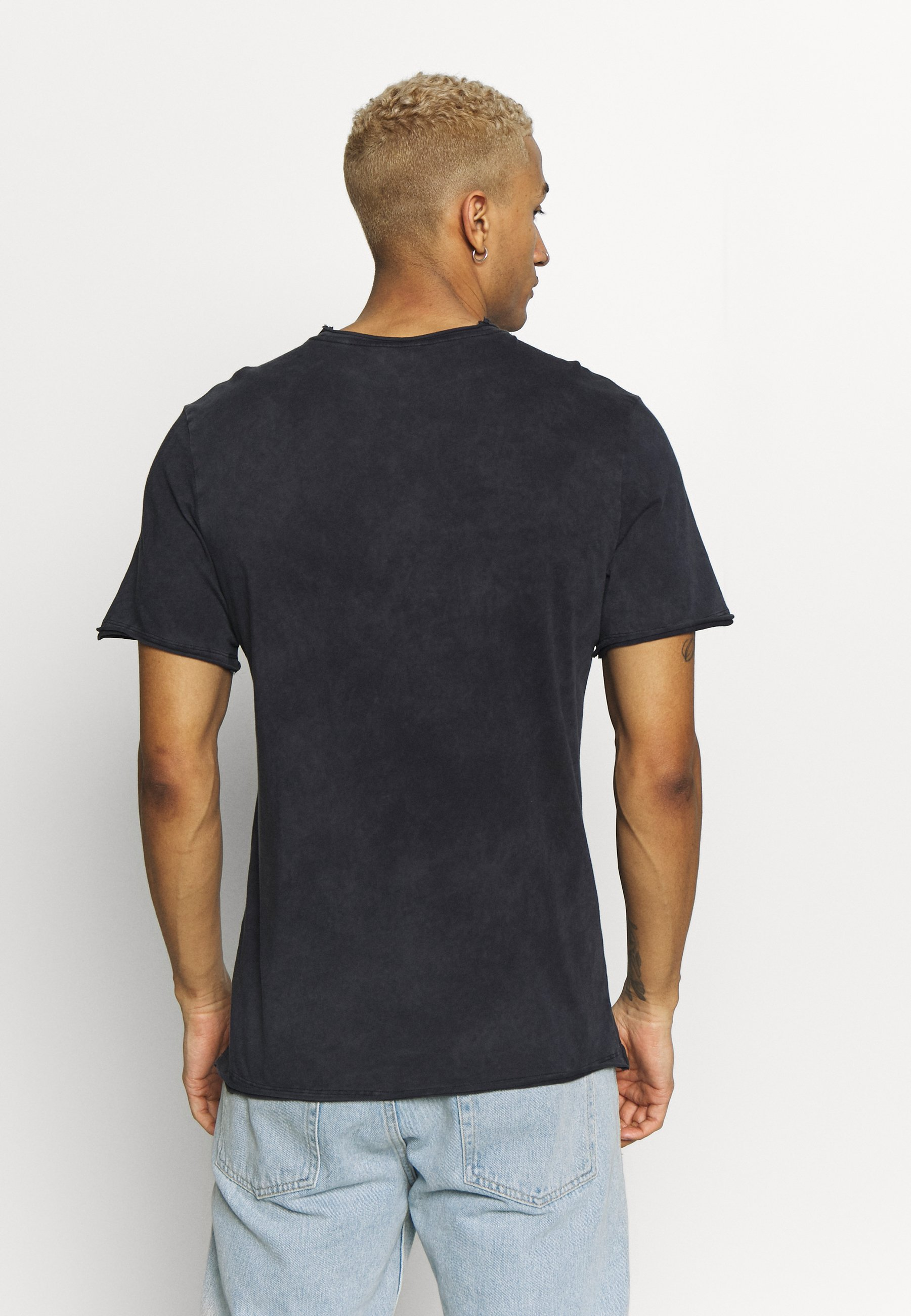 Nye Stilarter Hurtig Levering Tøj til herrer Nike Sportswear ICON FUTURA WASH T-shirts print black/white r2pb0Q FrLIMQ