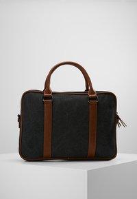 Pier One - Briefcase - black/brown - 2