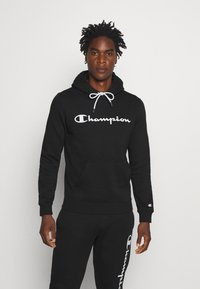 Champion - LEGACY HOODED - Luvtröja - black - 0