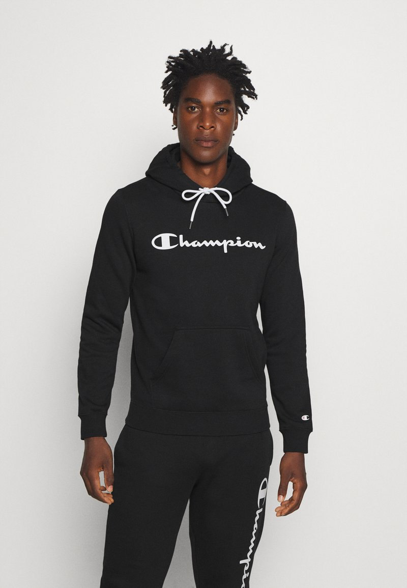 Champion - LEGACY HOODED - Luvtröja - black