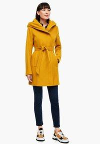 s.Oliver - Short coat - yellow - 1
