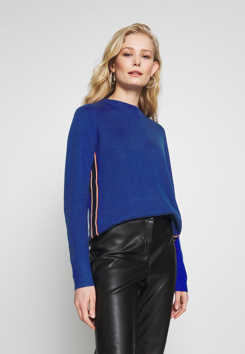 s.Oliver - LANGARM - Jumper - royal blue