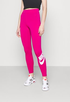 FUTURA - Leggings - fireberry/white