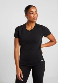adidas Performance - PRIME TEE - Camiseta de deporte - black - 0