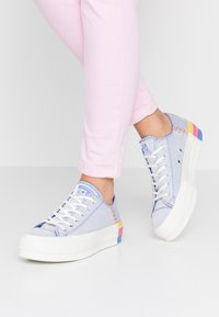 Converse - CHUCK TAYLOR ALL STAR LIFT RAINBOW - Joggesko - ozone blue/vintage white - 0