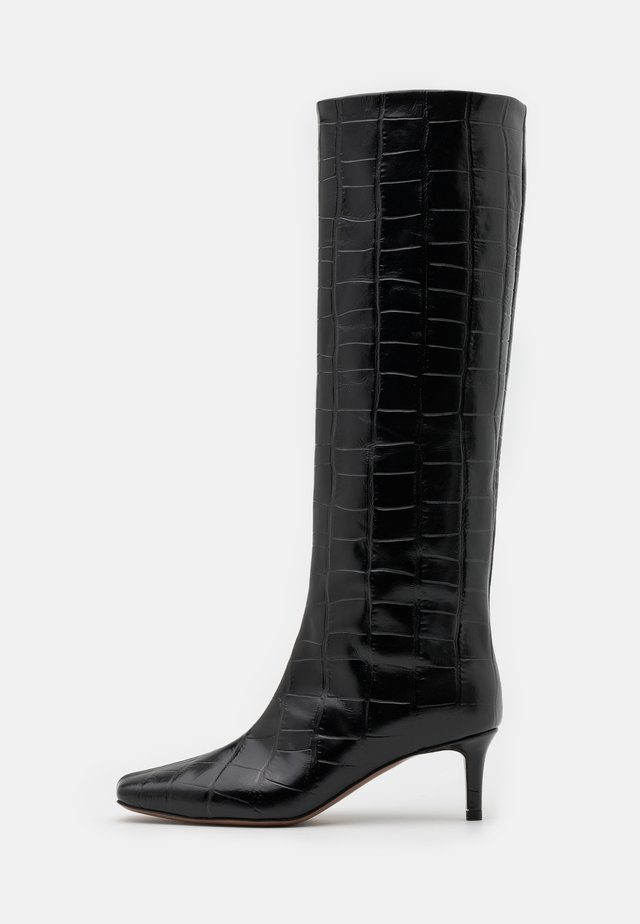 BOOT NON ZIP - Bottes - black