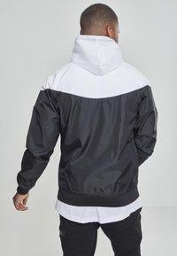 Urban Classics - Summer jacket - blk/wht - 1