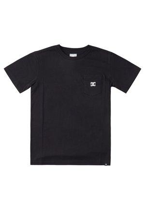 STAR POCKET  - Basic T-shirt - black